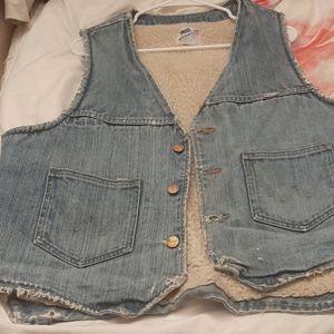 Denim Vest Vintage Wrangler